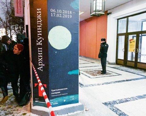 Викрадення картини Куїнджі: з'явилися момент крадіжки полотна і затримання злочинця