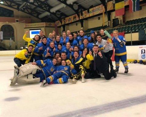 Сборная Украины по хоккею завоевала путевку на чемпионат мира: видео триумфа