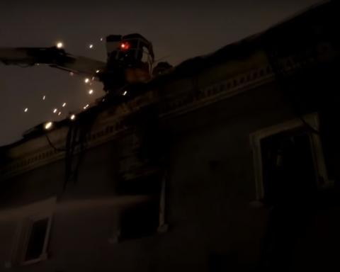 Пожежа у Києво-Печерській лаврі: з'явилось відео з висоти