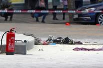 У центрі європейської столиці чоловік підпалив себе: фото з місця НП