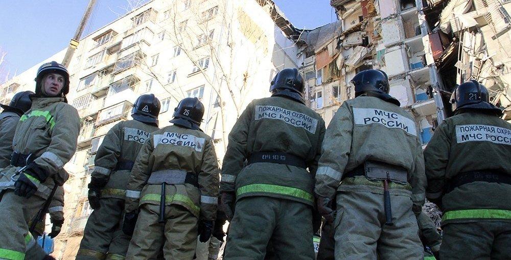 В Магнітогорську обрушилася стіна будинку, де стався вибух: все потрапило на відео