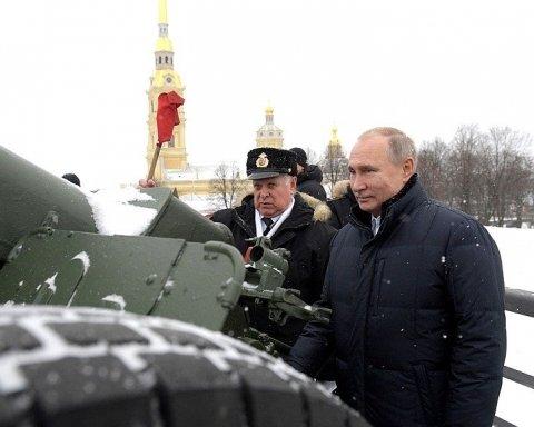 Путін влаштував стрілянину в Петербурзі: опубліковано фото