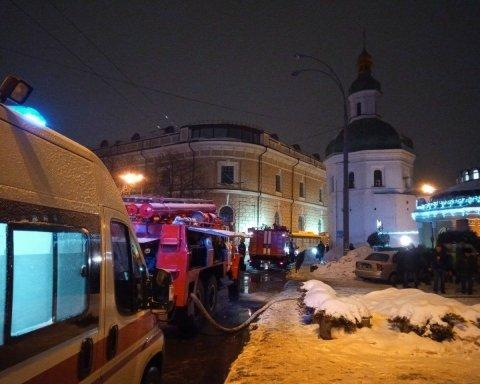 Пожежа у Києво-Печерській лаврі: з'явились нові фото, відео та подробиці