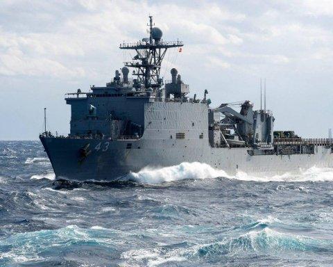 США відправили десантний корабель у Чорне море: перші подробиці
