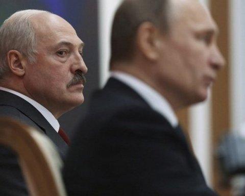 """Путін """"захоплює"""" Білорусь: плани глави Кремля висміяли влучною карикатурою"""