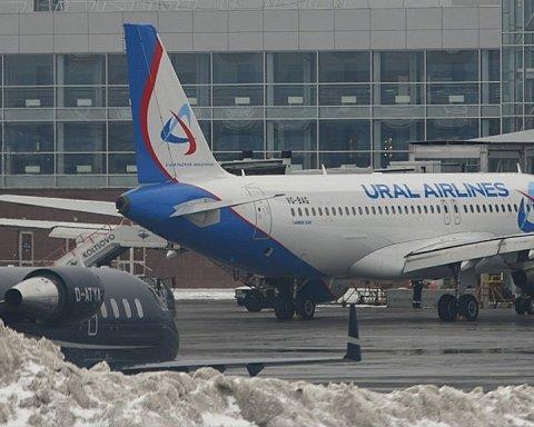 У Росії трапилася небезпечна НП на борту літака: подробиці і кадри з місця