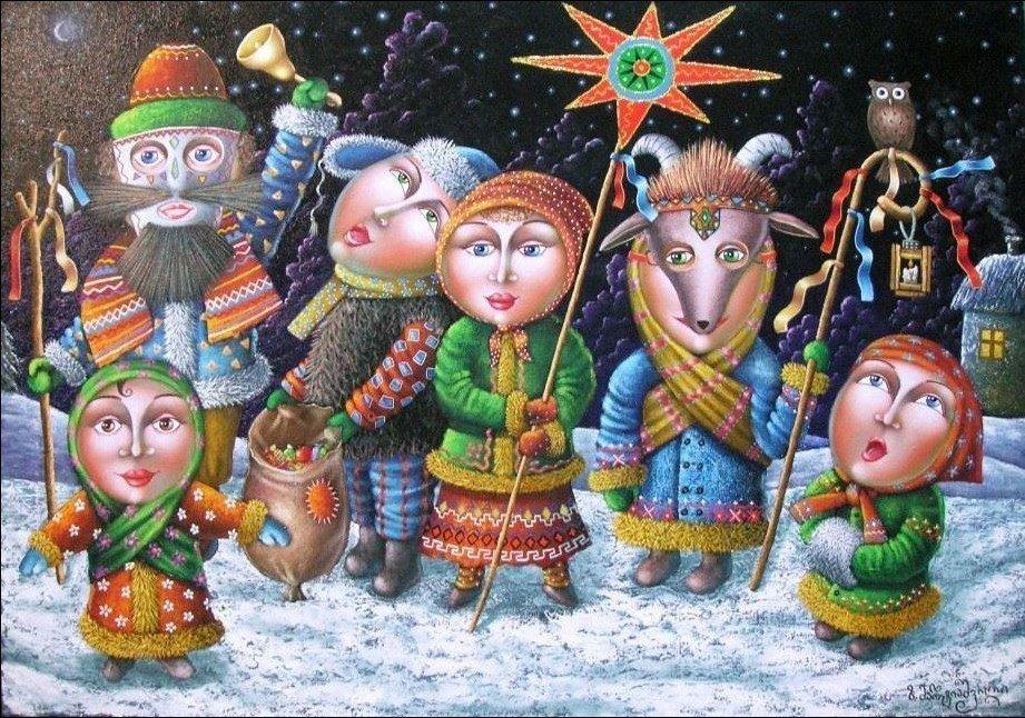 Щедрівки на Старий Новий рік та красиві віршування