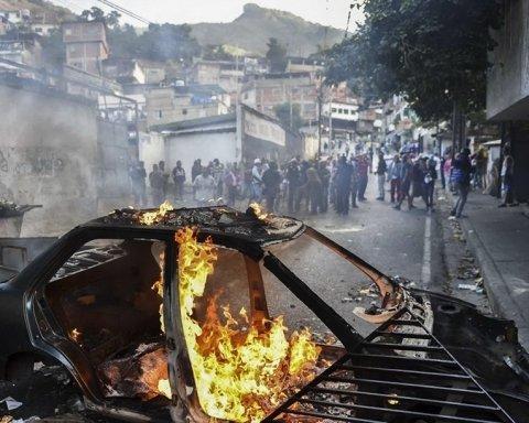 Революція у Венесуелі: з'явились інформація про загиблих та відео протестів