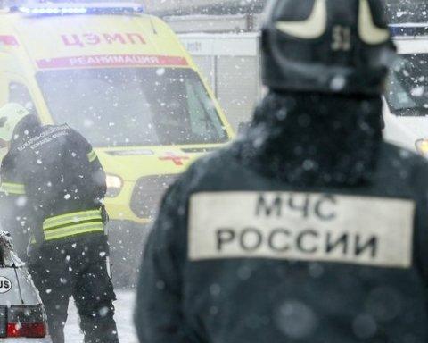 В Росії знову стався вибух у житловому будинку: фото, відео