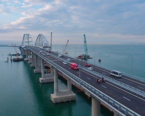 В Украине рассказали, почему может упасть Крымский мост
