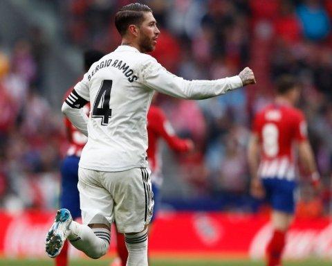 Атлетико — Реал: видео голов дерби Мадрида