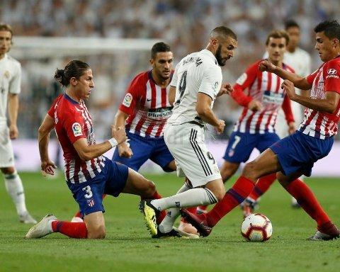 Атлетико — Реал: где смотреть онлайн матч Примеры