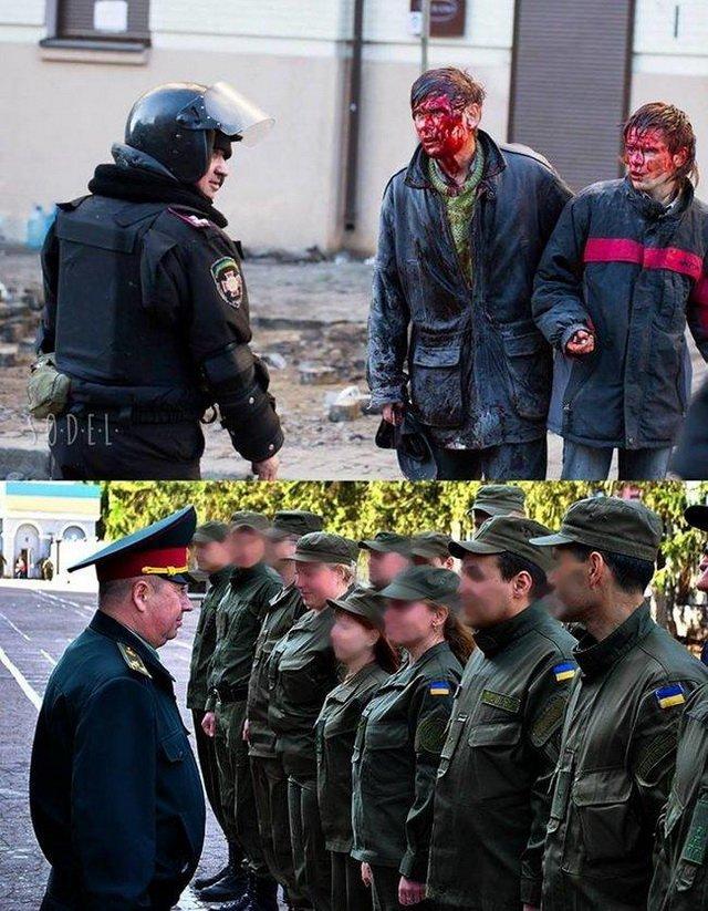Полковник, який бив українців на Майдані, отримав високу посаду, розгорівся скандал