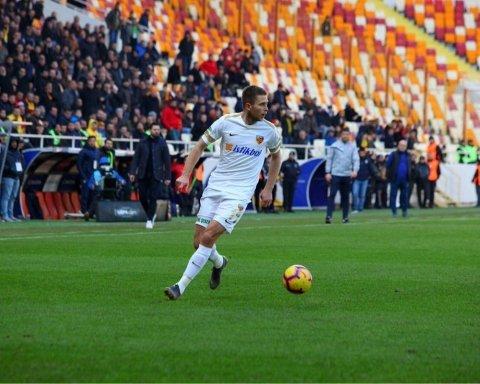 Игрок сборной Украины забил гол-красавец в Турции: появилось видео момента