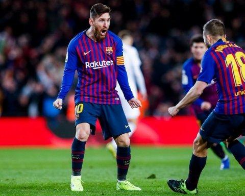 Месси спас Барселону от поражения в матче с Валенсией: видео голов