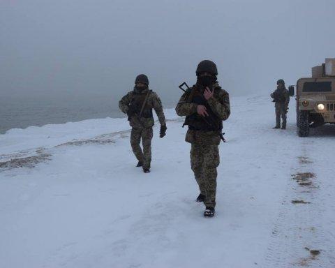 Як українські бійці захищають Азов від окупантів: яскраві кадри