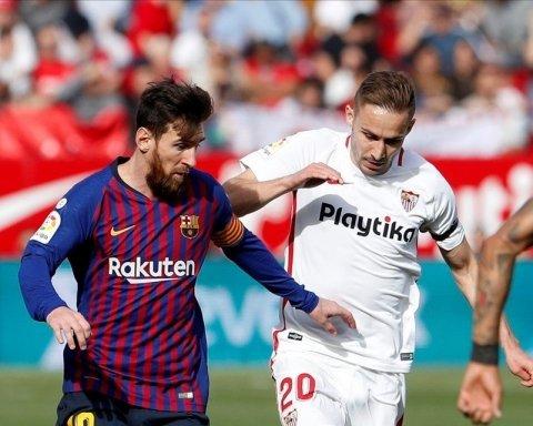 Невероятный Месси принес Барселоне победу над Севильей: видео голов и обзор матча Примеры