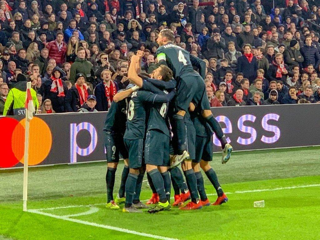 Лига чемпионов аякс реал мадрид прямая трансляция
