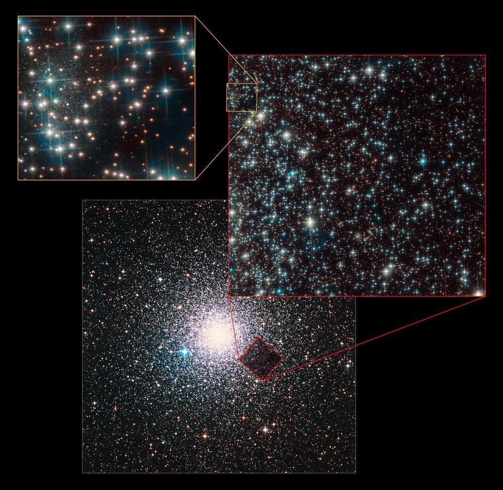 Соседка Млечного Пути: телескоп Hubble сфотографировал древнюю галактику