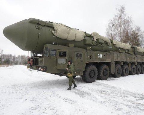 РФ произвела боевой пуск межконтинентальной ракеты: все попало на фото