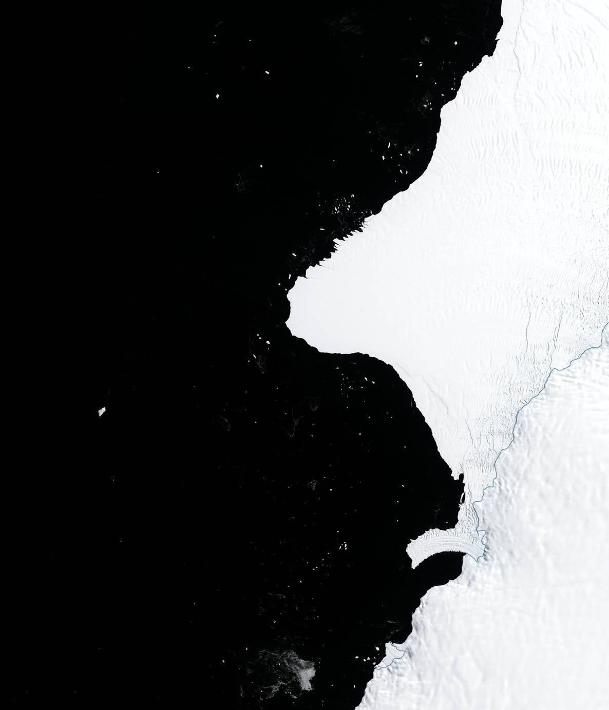 Айсберг площею з два Києва: вчені зробили тривожну заяву щодо Антарктиди