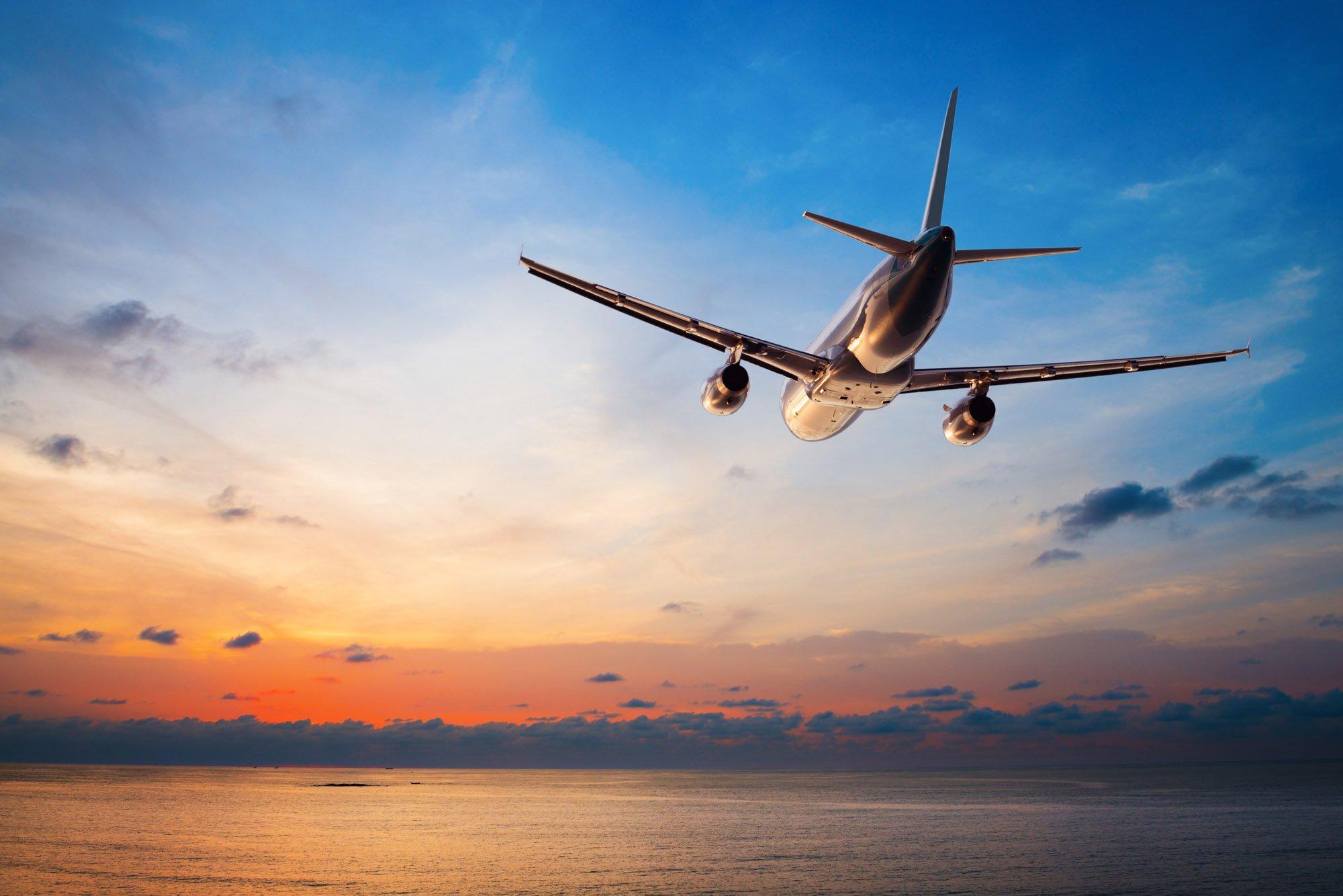 картинки самолеты в небе над морем еще один способ