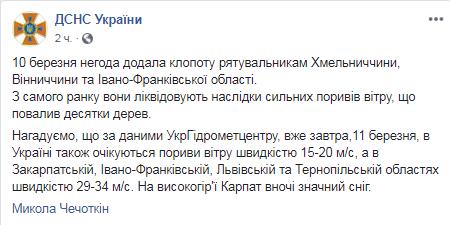 Київ та інші регіони України накрила негода: фото і відео наслідків жахливого вітру