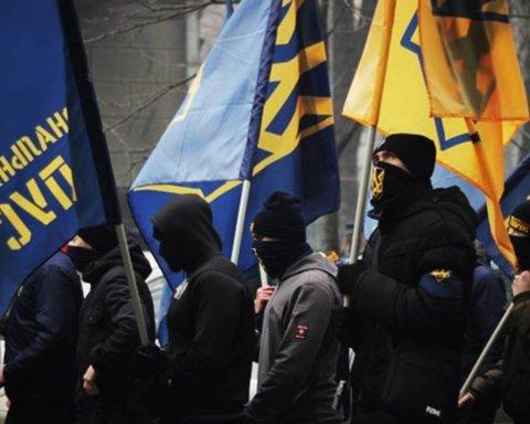 На мітингу Порошенка знову сталися сутички: з'явилися подробиці, фото і відео