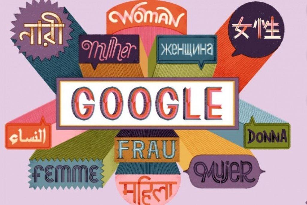 Google посвятил 8 марта необычный дудл