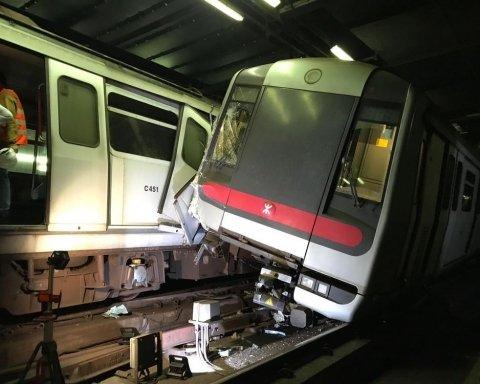 В Китае столкнулись поезда, есть пострадавшие: подробности и кадры с места аварии