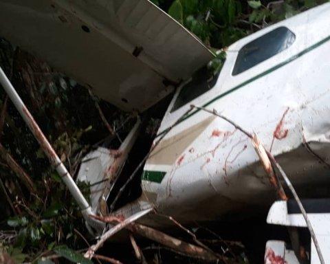 В Венесуэле рухнул самолет: пассажир снял момент крушения