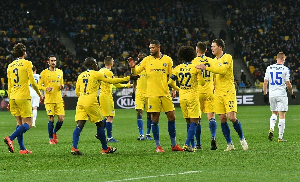 где смотреть динамо челси Update: Динамо Челси смотреть видео матча 14.03.2019