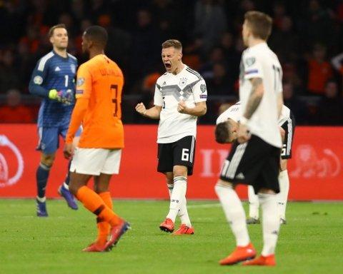 Германия в невероятном матче одолела Нидерланды: видео голов и обзор матча