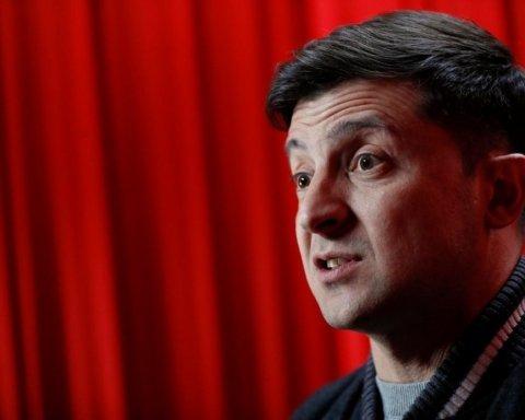 Зеленский «сбежал» от журналистки, но появился на канале Коломойского: опубликовано видео