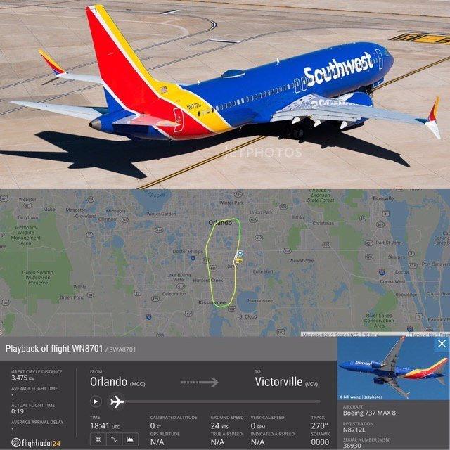 У США екстрено посадили Boeing 737 MAX: подробиці нової НП зі смертельною моделлю літака