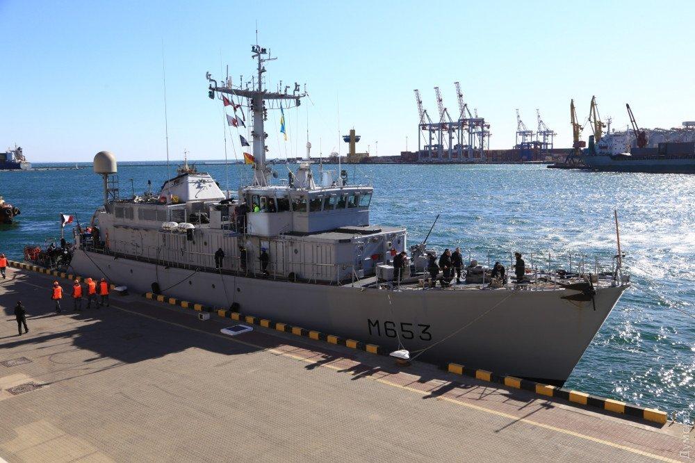 До України прибув корабель НАТО: яскраві фото