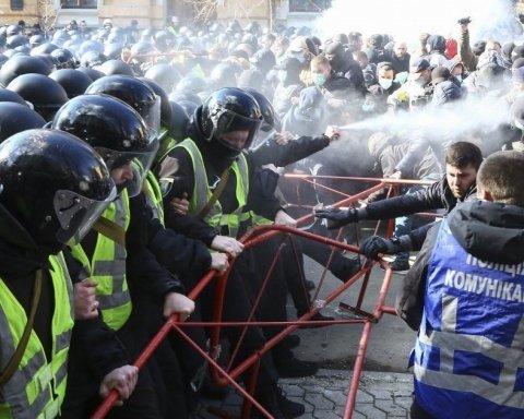 Прорив до Порошенка в Черкасах: представники Нацкорпусу потрапили до одного списку з бойовиками