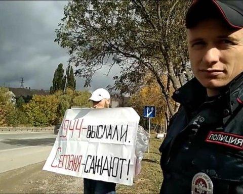 Путинские силовики задержали известных активистов на границе с оккупированным Крымом