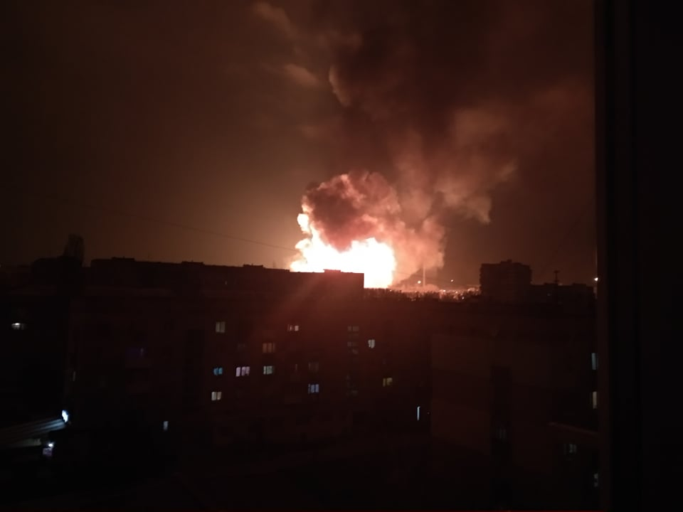 У Кропивницькому прогриміло кілька вибухів, що відбувається: перші подробиці, фото і відео