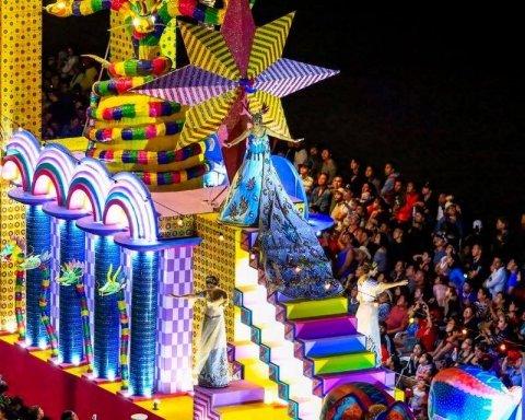 У Бразилії в самому розпалі легендарний карнавал: з'явилися видовищні кадри з Ріо