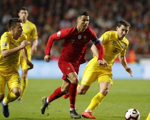 Сборная Украины сотворила сенсацию в матче с Португалией: видеообзор