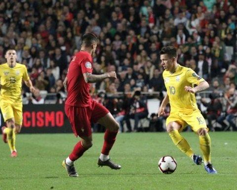 Португалия — Украина 0:0: хроника матча квалификации Евро-2020, видео моментов