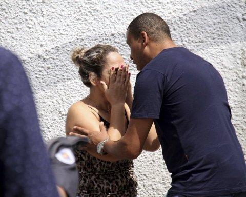 Расстрел детей в Бразилии: появились жуткие кадры из школы