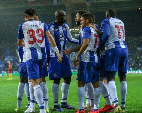 Порту – Рома 3:1: відео голів матчу Ліги чемпіонів
