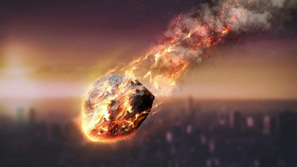 Вибух метеорита у небі над Хорватією потрапив на відео