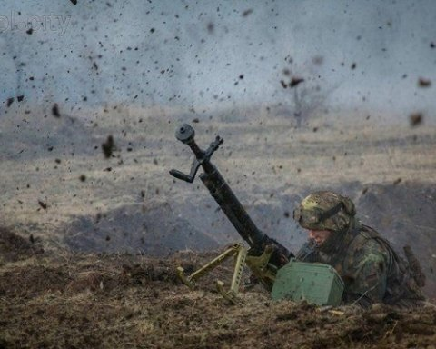Багато жертв: з'явилося відео потужного удару ЗСУ по бойовиках