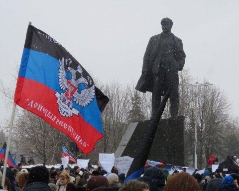 В мережі двома фото з Донецька показали, що накоїла Росія