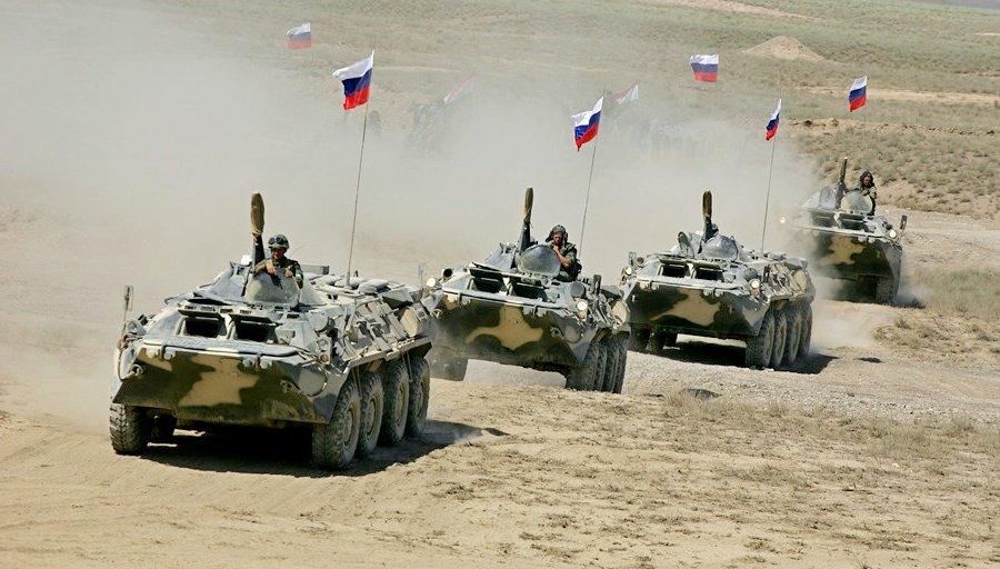 Вторгнення російських військ до сусідньої країни: з'явилися цікаві фото та подробиці