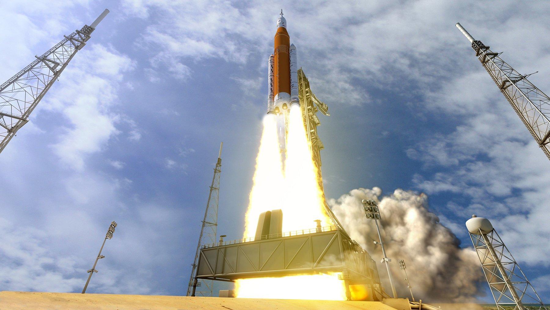 NASA высадит астронавтов на Луну: озвучены даты полетов Space Launch System и Orion