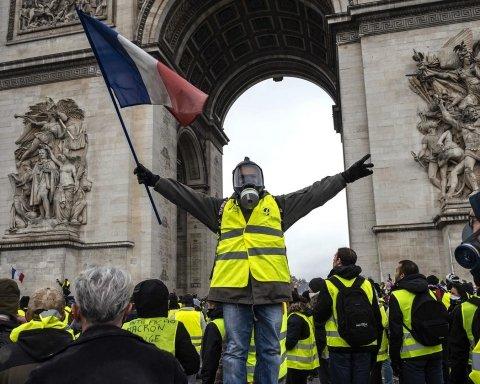 Протести у Парижі: поліція застосувала силу проти мітингувальників